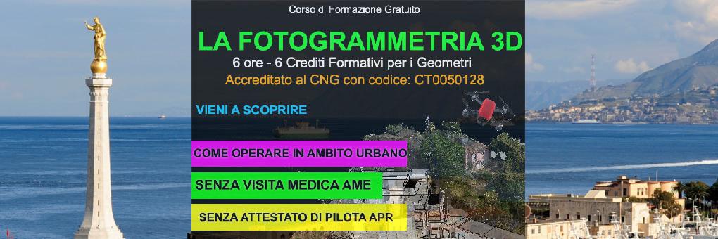 messina corso fotogrammetria