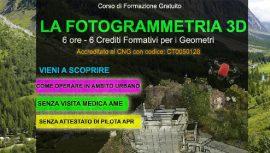 corso fotogrammetria gratuito aosta