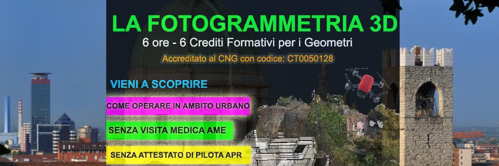brescia corso fotogrammetria gratuito