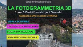 como corso fotogrammetria