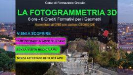 Verona Corso Fotogrammetria Gratuito