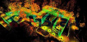 rilievi topografici laser scanner 3D
