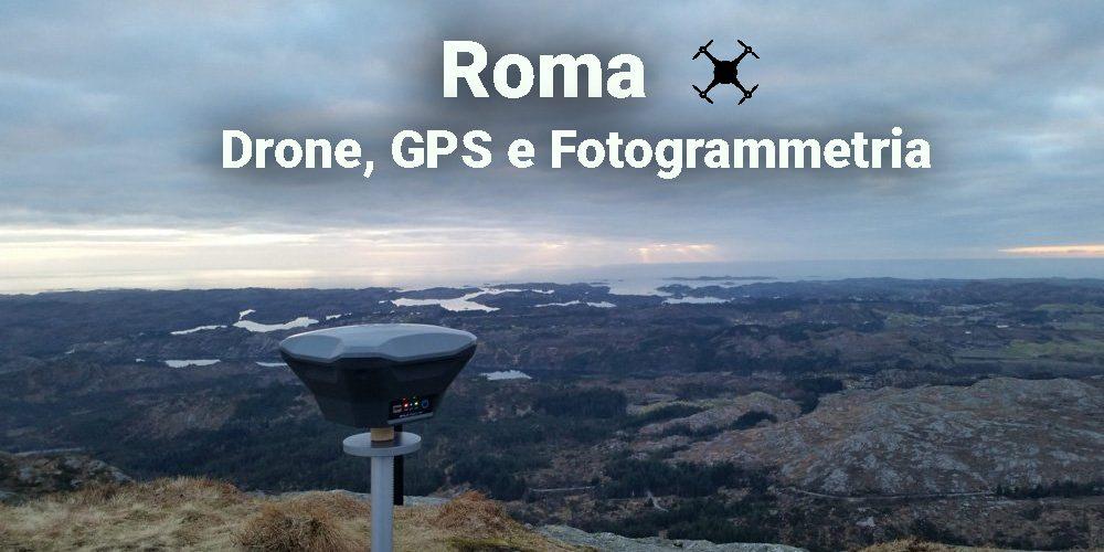 drone gps e fotogrammetria