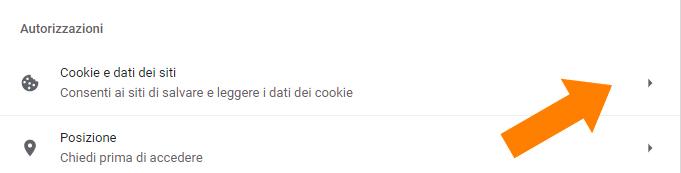 cookie e dati dei siti